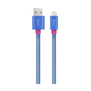 Cablu Date Usb to Lightning Goui G-8PINFASHIONB 1m Albastru