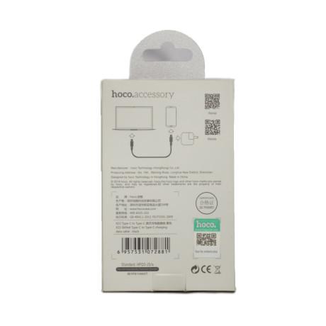 Cablu incarcare Type C - Type C, Hoco X23 Negru 1m