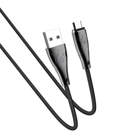 Cablu MicroUSB magnetic U75 Hoco Negru