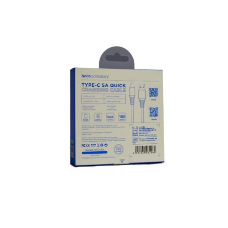 Cablu Quick Charge Type-C, Hoco X22 Negru