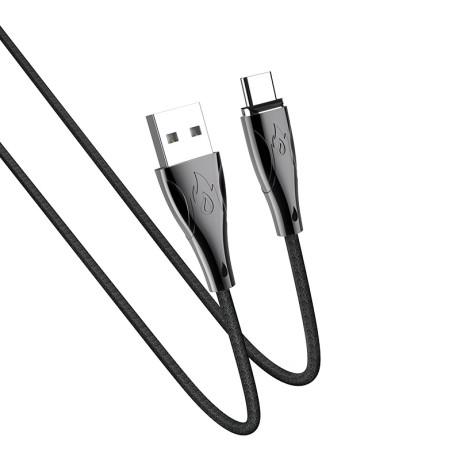 Cablu Type-C magnetic Hoco U75 Negru