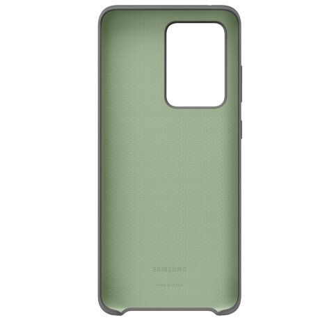 Capac protectie spate Samsung Silicone Cover pentru Galaxy S20 Ultra EF-PG988T Gray