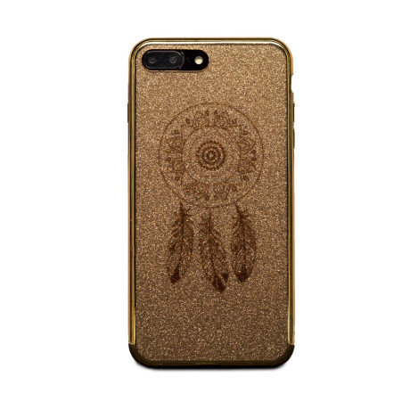 Carcasa fashion glitter iPhone 7 Plus, Contakt Aurie