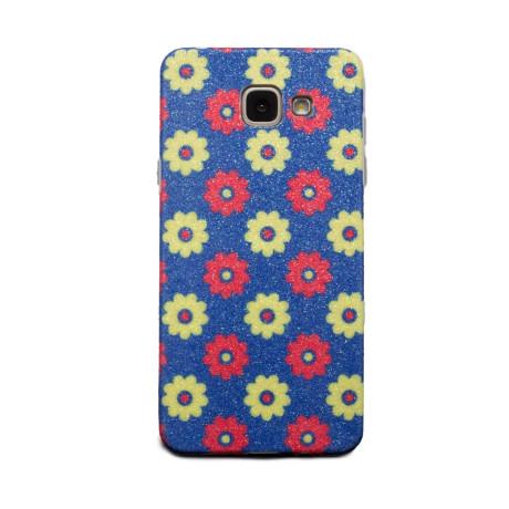Carcasa fashion glitter Samsung Galaxy A5 2016, Contakt Albastra
