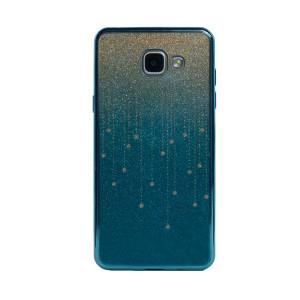 Carcasa fashion glitter Samsung Galaxy A5 2016, Contakt Albastru Deschis