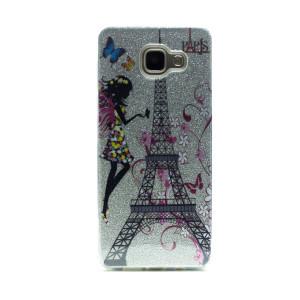Carcasa fashion glitter Samsung Galaxy A5 2016, Contakt Argintie