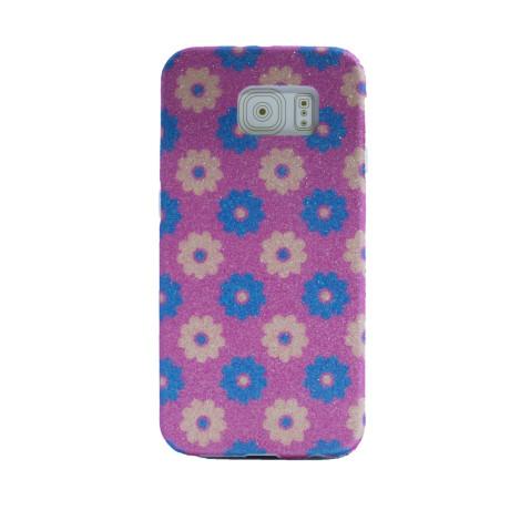 Carcasa fashion glitter Samsung Galaxy S6, Contakt Roz