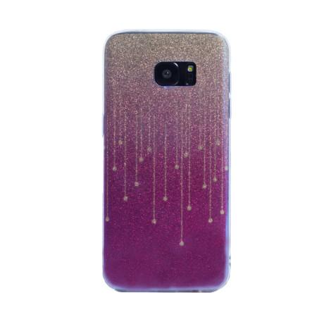 Carcasa fashion glitter Samsung Galaxy S7 Edge, Contakt Mov