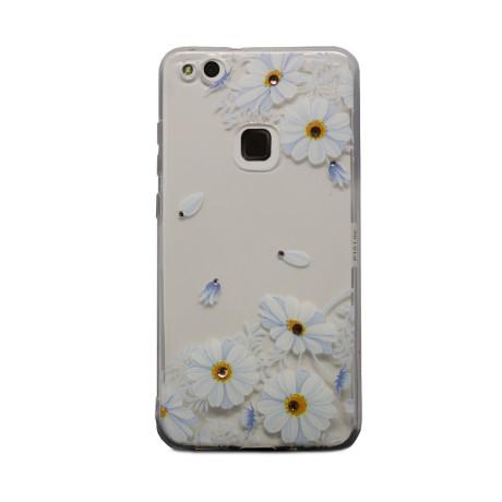 Carcasa Fashion Huawei P10 Lite, Daisy