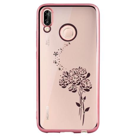 Carcasa Fashion Huawei P20 Lite Roses Roz Beeyo