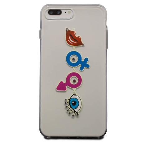 Carcasa Fashion iPhone 7 Plus/8 Plus, Emoji