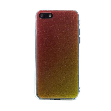 Carcasa fashion iPhone 7/8/SE 2, Contakt Glitter Auriu