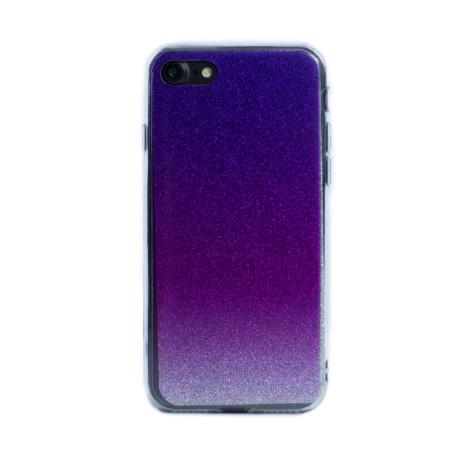 Carcasa fashion iPhone 7/8/SE 2, Contakt Glitter Roz