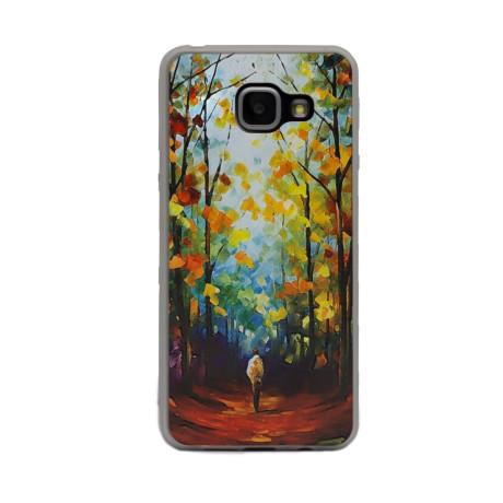 Carcasa Fashion Samsung Galaxy A3 2016, Autumn Painting