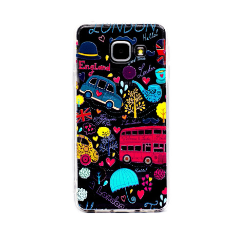 Carcasa Fashion Samsung Galaxy A3 2016, England