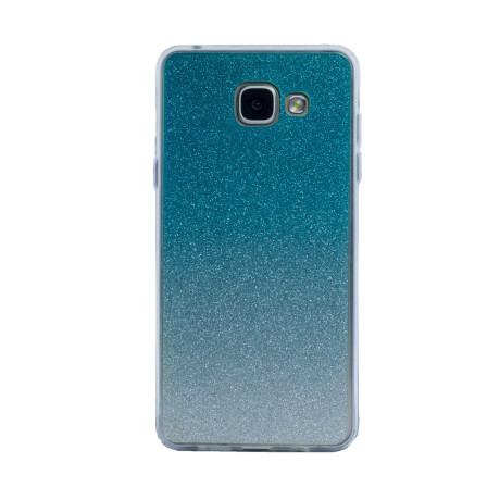 Carcasa fashion Samsung Galaxy A5 2016, Contakt Glitter Argintiu