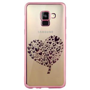 Carcasa Fashion Samsung Galaxy A8 2018 Tree Heart Roz  Beeyo