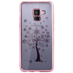 Carcasa Fashion Samsung Galaxy A8 2018 Tree Roz  Beeyo