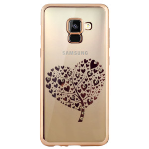 Carcasa Fashion Samsung Galaxy A8 Plus 2018 Heart Tree Aurie Beeyo