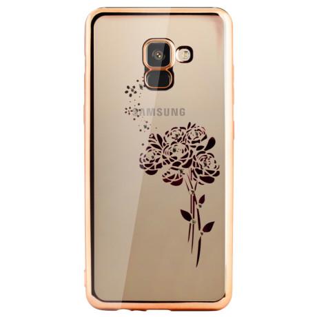 Carcasa Fashion Samsung Galaxy A8 Plus 2018 Roses Aurie Beeyo