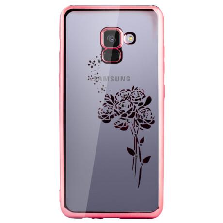 Carcasa Fashion Samsung Galaxy A8 Plus 2018 Roses Roz Beeyo