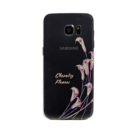Carcasa Fashion Samsung Galaxy  S6 Edge, Charming Flowers