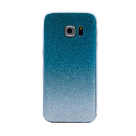 Carcasa fashion Samsung Galaxy S7, Contakt Glitter Argintiu