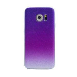 Carcasa fashion Samsung Galaxy S7, Contakt Glitter Roz
