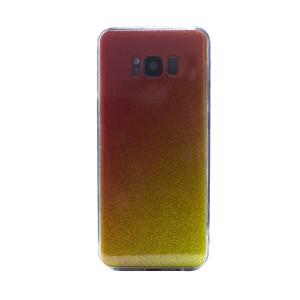 Carcasa fashion Samsung Galaxy S8, Contakt Glitter Auriu