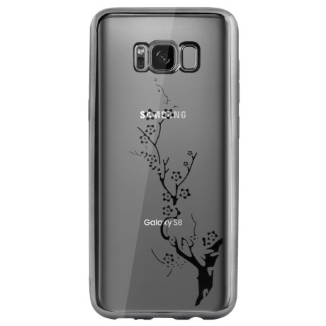 Carcasa Fashion Samsung Galaxy S8 Plus Branch Gri Beeyo