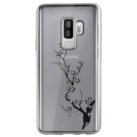 Carcasa Fashion Samsung Galaxy S9 Plus Branch Argintie Beeyo