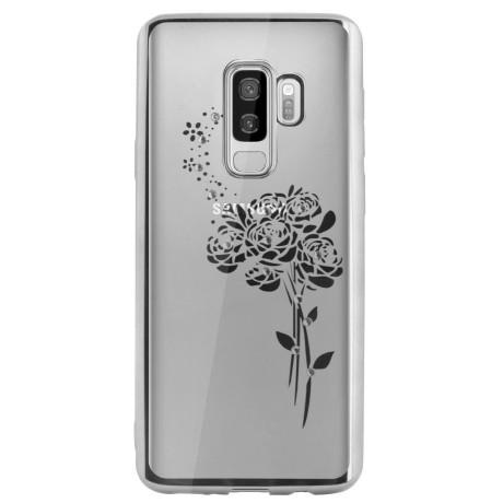 Carcasa Fashion Samsung Galaxy S9 Plus Roses Argintie Beeyo