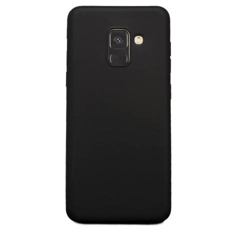 Carcasa Samsung Galaxy A8 2018, Hoco Fascination Neagra