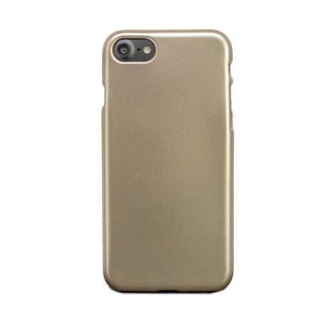 Carcasa silicon iPhone 7/8/SE 2, Contakt Aurie