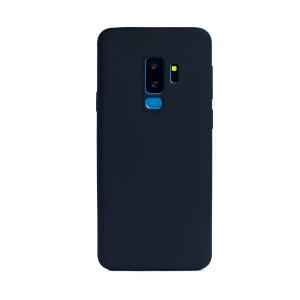 Carcasa silicon slim Samsung Galaxy S9 Plus, Contakt Negru Mat