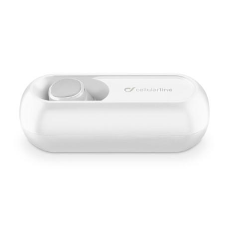 Casca Bluetooth Handsfree Cellularline Mini Alb