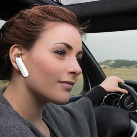Casca Bluetooth XO BE4, Alb