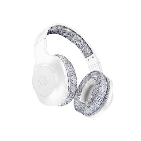 Casti Audio Bluetooth Cellularline BTHEADBASTROS2 Alb-Negru
