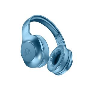 Casti Audio Bluetooth Cellularline BTHEADBASTROSB Albastru