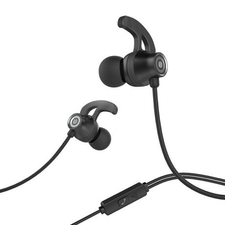 Casti audio cu microfon, Hoco M35 Negre