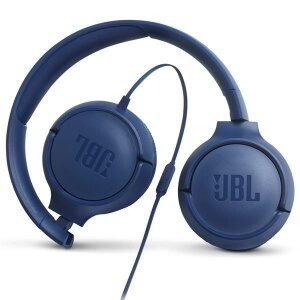 Casti Audio JBL Tune 500 Jack 3.5mm Albastru