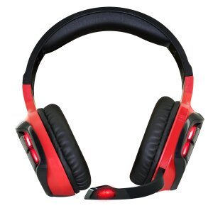 Casti Gaming Audio Spirit of Gamer Elite-H60 Helmet Microfon si Jack 3.5mm Rosu