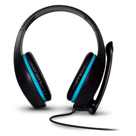 Casti Audio Gaming Spirit of Gamer Pro-H5 pentru PS4/Xbox/Nintendo Microfon si Jack 3.5mm Albastru