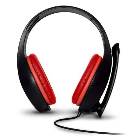 Casti Audio Gaming Spirit of Gamer Pro-NH5 pentru Nintendo Switch Microfon si Jack 3.5mm Rosu