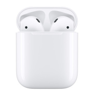 Casti Bluetooth Apple  AirPods 2 Alb