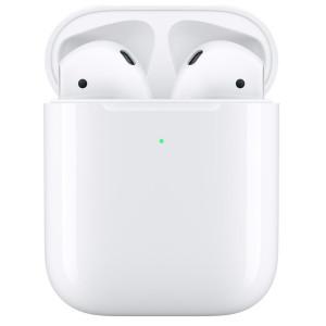 Casti Bluetooth Apple  AirPods 2 Wireless Alb