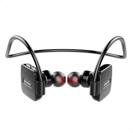 Casti Bluetooth Awei Neckband Sport Wireless Negru