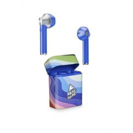 Casti Bluetooth Cellularline TWS Wireless Albastru