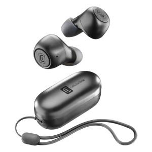 Casti Bluetooth Cellularline BTPICKTWSK True Wireless Negru