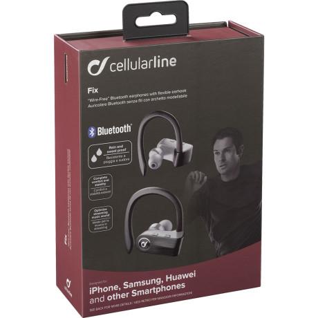 Casti Bluetooth Cellularline TWS Sport BT 4.0 Negru